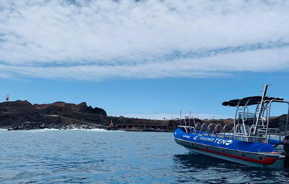 Paseo en barco desde Punta de Teno