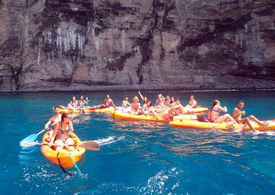 Kayak en Punta de Teno