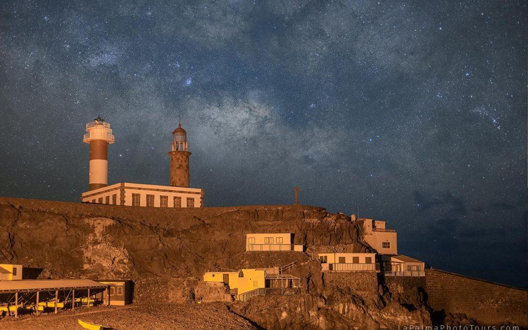Fotografía nocturna en Fuencaliente