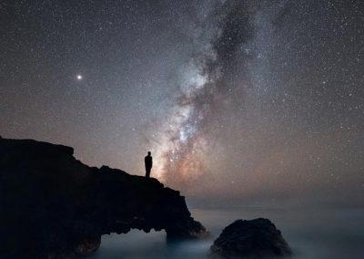 Fotografía nocturna en la Costa Oeste
